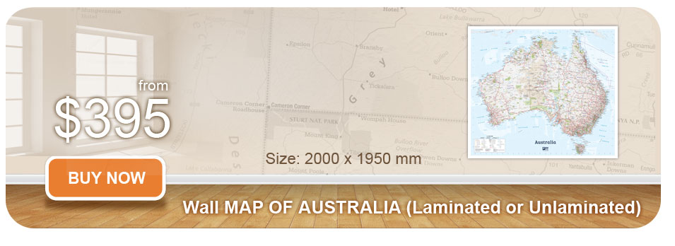 Buy Map Of Australia.Australian Wall Maps Largest Map Of Australia Poster Map Of