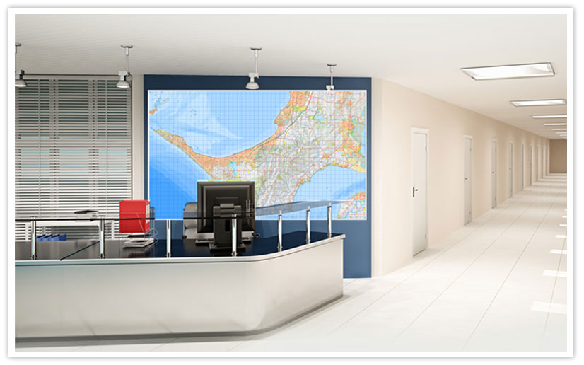 Australian Wall Maps - Largest Map of Australia - Poster Map ...